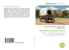 Buchcover von Migrations Germaniques