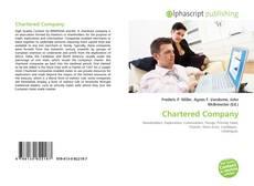 Chartered Company的封面
