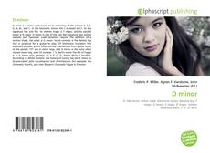 Bookcover of D minor