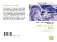 Bookcover of Aston Martin 2-Litre Sports