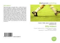 Billy Hibbert kitap kapağı