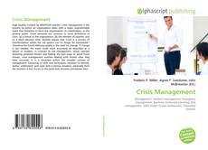 Buchcover von Crisis Management