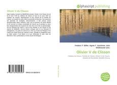 Bookcover of Olivier V de Clisson