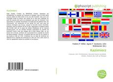 Buchcover von Kazimierz