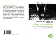 Обложка Johann Wilhelm Hittorf