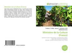 Couverture de Ministère de la Culture (France)