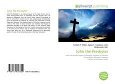 Capa do livro de John the Presbyter