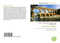 Couverture de Cornelius Gallus