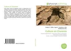 Bookcover of Culture en Charente