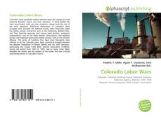 Bookcover of Colorado Labor Wars