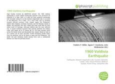 1960 Valdivia Earthquake kitap kapağı