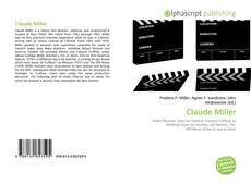Claude Miller kitap kapağı