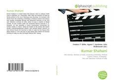 Capa do livro de Kumar Shahani