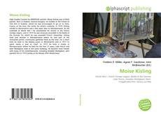 Couverture de Moise Kisling