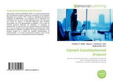 Buchcover von Conseil Constitutionnel (France)