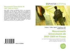Mouvements Universitaires de 2007-2009 en France kitap kapağı
