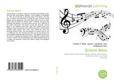 Bookcover of Gimme More