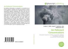 Air Pollutant Concentrations的封面