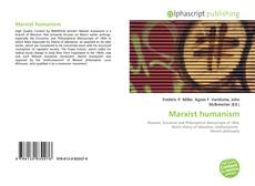 Bookcover of Marxist humanism