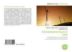 Bookcover of Environmental Issues in India