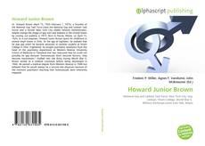 Howard Junior Brown kitap kapağı