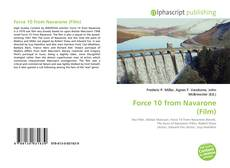 Bookcover of Force 10 from Navarone (Film)