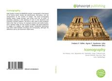 Bookcover of Iconography