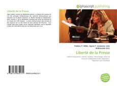 Bookcover of Liberté de la Presse