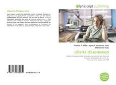 Capa do livro de Liberté d'Expression