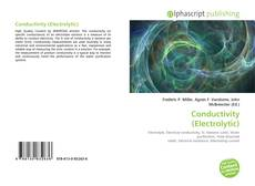 Bookcover of Conductivity (Electrolytic)