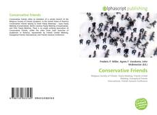 Bookcover of Conservative Friends