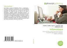 Capa do livro de Informatique