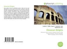 Etruscan Origins kitap kapağı