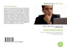 Fuite d'Information的封面