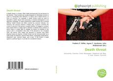 Capa do livro de Death threat