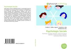 Bookcover of Psychologie Sociale