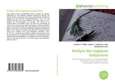 Bookcover of Analyse des Logiques Subjectives