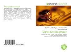 Capa do livro de Marxisme Économique