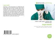 Portada del libro de Legal death