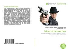 Bookcover of Crime reconstruction