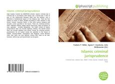 Bookcover of Islamic criminal jurisprudence