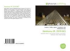 Borítókép a  Hemiunu (fl. 2570 BC) - hoz