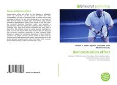 Bookcover of Demonstration effect