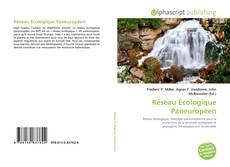 Capa do livro de Réseau Écologique Paneuropéen