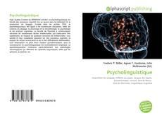 Bookcover of Psycholinguistique
