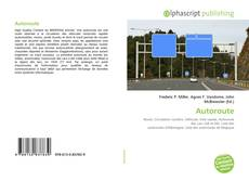 Autoroute kitap kapağı