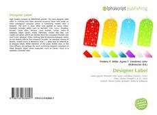 Bookcover of Designer Label