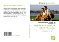 Capa do livro de 1885–86 West Bromwich Albion F.C. season
