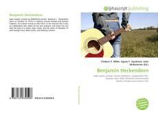 Bookcover of Benjamin Heckendorn
