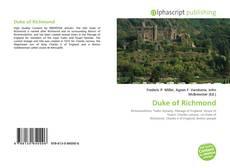 Copertina di Duke of Richmond